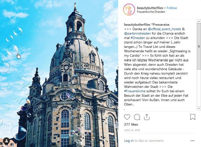 Städtetrip Dresden - Frauenkirche © Beautybutterflies