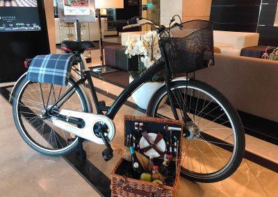 Pullman Rad mit Picknick Korb © Trendlupe