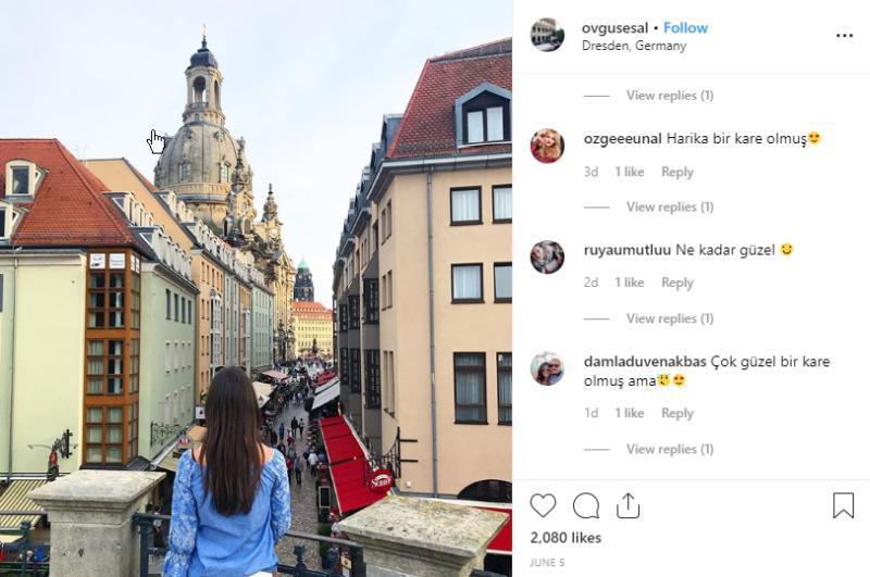 Instagram Beitrag Ovgu Sesal © Ovgu Sesal