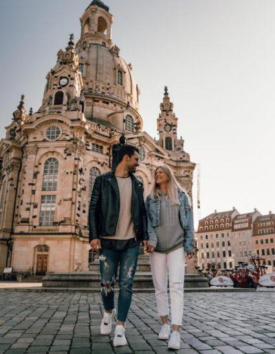 Urlaub Dresden - Frauenkirche Dresden © Carina & Dinis